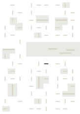 Oversigtskort for teglparken med markering af konstruktionen: 2.1.65.Antibes