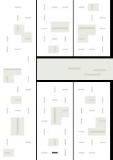 Oversigtskort for teglparken med markering af konstruktionen: 2.7.10.Dark Night