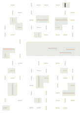 Oversigtskort for teglparken med markering af konstruktionen: D76