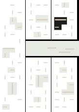 Oversigtskort for teglparken med markering af konstruktionen: K43