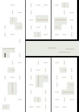 Oversigtskort for teglparken med markering af konstruktionen: RT 103.Prima Bologna