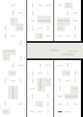 Oversigtskort for teglparken med markering af konstruktionen: B116.Monaco