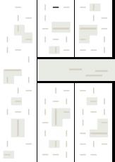 Oversigtskort for teglparken med markering af konstruktionen: Blauwrood