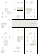 Oversigtskort for teglparken med markering af konstruktionen: Bretagne