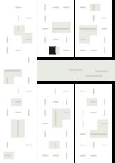 Oversigtskort for teglparken med markering af konstruktionen: Nostalgie