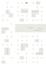 Oversigtskort for teglparken med markering af konstruktionen: Bronsgroen