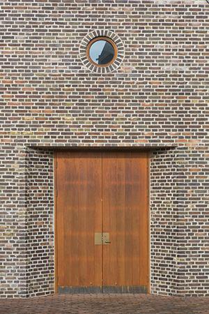Kapel Egtved, opført med Petersen tegl
