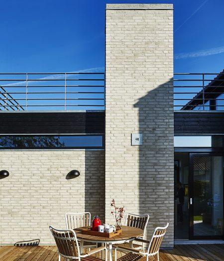 Hus bygget med Randers tegl