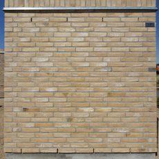 Konstruktion bygget af Egernsund tegl's: 2.1.36.Light Coal, fuge: LysegrÅ