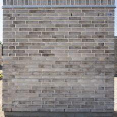 Konstruktion bygget af Egernsund tegl's: 2.1.66.Sisteron, fuge: hvid/LysegrÅ