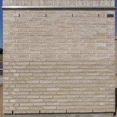 Konstruktion bygget af Egernsund tegl's: 2.1.64               .Limoux, fuge: hvid/LysegrÅ