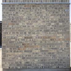 Konstruktion bygget af Egernsund tegl's: 3.7.37.Royal Grey, fuge: LysegrÅ