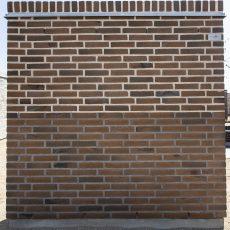 Konstruktion bygget af Egernsund tegl's: 2.4.11.Strato Coal, fuge: LysegrÅ/Antracit