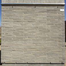 Konstruktion bygget af Egernsund tegl's: 2.7.14.Dusty Grey, fuge: LysegrÅ