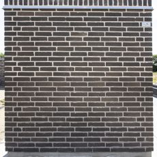 Konstruktion bygget af Egernsund tegl's: 2.7.02.Royal Ghost, fuge: LysegrÅ/antracit