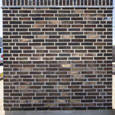 Konstruktion bygget af Petersen Tegl's: D199, fuge: lysegrÅ/antracit