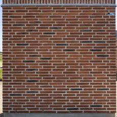 Konstruktion bygget af Petersen Tegl's: D33FF, fuge: lysegrÅ