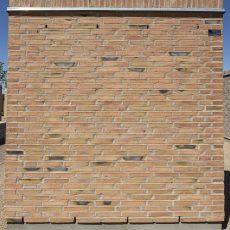Konstruktion bygget af Petersen Tegl's: D37FF, fuge: lysegrÅ