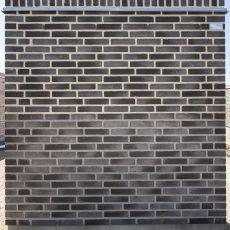 Konstruktion bygget af Strøjer tegl's: B722.Silver Grey, fuge: LysegrÅ/Antracit