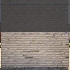 Konstruktion bygget af Egernsund tegl's: 2.1.73.Cassis Coal, fuge: LysegrÅ